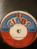 Joe Gibbs & The Professionals ‎– African Dub - All Mighty - Vinyl LP 1975