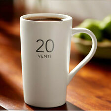 Classic White OUNCES series Ceramic Cup MATT VENTI 20oz porcelain Coffee Mug