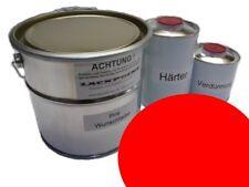 1 Litre Kit 2K Phosphate de zinc-époxy couche primaire Stylo à encre rouge ral