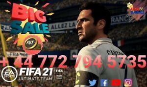 FIFA 21 PS4 COINS - 100 K + EA TAX + NO BAN