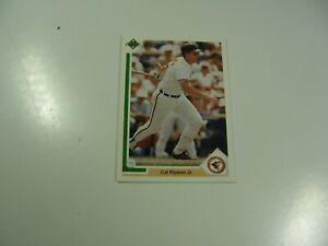 Cal Ripken, Jr. 1991 Upper Deck card #347