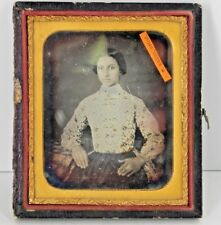 Daguerreotype Photograph Of A Pretty Woman by Artist A.R. Krebs
