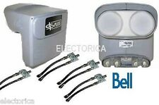 QUAD DPP BELL EXPRESS VU PRO DP PLUS LNB HDTV TWIN HD DISH NETWORK + SEPARATOR