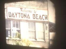 16mm Home Movies 400' 1950s Daytona Beach Cleveland Indians Atlanta Mag Sound