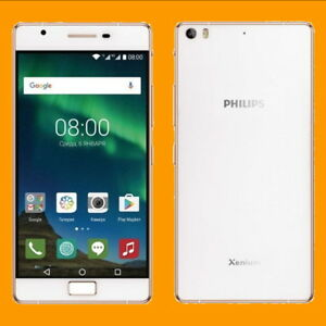 """Philips Xenium X818 3+32GB 16MP PDAF FM 5.5"""" Dual SIM Standby Android Smartphone"""
