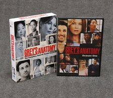 Grey's Anatomy Season 1 and Season 2 DVDs
