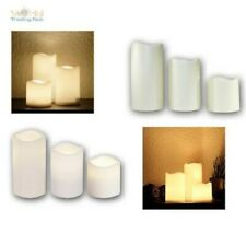 LED Candle for Outdoor with Timer, Flameless Flickering