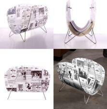 Original Revistero diseño periódico,de polipropileno, regalo, decoración, hogar