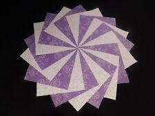 30 4x4 Lavender/Purple Quilt Fabric Squares~4081