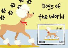 Liberia - 2012 - DOGS OF THE WORLD - Souvenir Sheet - MNH