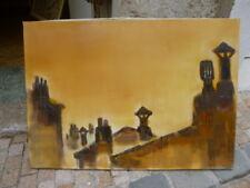 grande huile sur toile de Tony ROUX