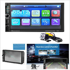 7 inch Bluetooth Car MP5 Video Player In Touch Screen MP3 USB TF AUX FM+Camera