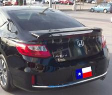 Fits: Honda Accord 2013+ 2 Door Post Mount Custom Rear Spoiler Painted USA Made