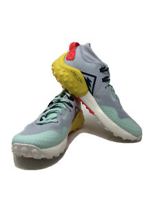 Nike Women's Wildhorse 6 Trail Running Shoes BV7099-400 Size 9.5 New Green Grey