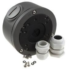 CCTV Universal Montage Abzweigdose & Drüsen für Kameras schwarz/grau