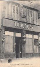 JOIGNY 77 place du Pilori maison Toulouse écrite 1919