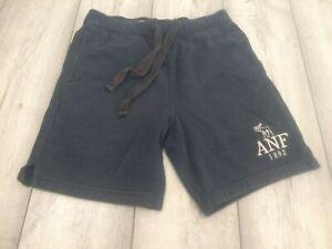 ABERCROMBIE & FITCH SWEAT PANTS SHORTS SIZE SMALL BLUE