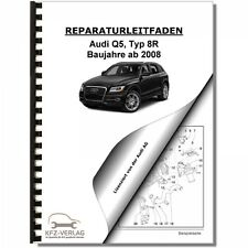 Audi Q5, Typ 8R (08>) Instandsetzung 7 Gang Doppelkupplungsgetriebe 0B5 S tronic