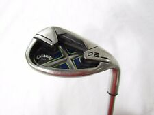Used RH Callaway X-22 Sand S Wedge Steel Shaft Lamkin Grip ( Right-Handed )