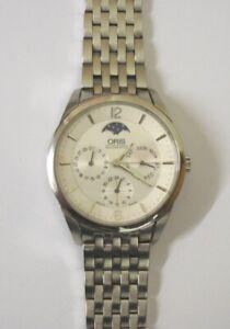 Oris 7506 S/S XL Complication Automatic Wrist Watch - £695 Good Working Order