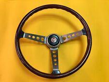 F.I.V. Secura Fiat 850, 1100, 600 & others Wood Steering Wheel NOS Rare