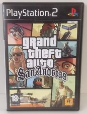 PS2 GTA : San Andreas *** COMPLETE *** Playstation 2 PAL 2 Grand Theft Auto