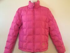 KENNETH COLE REACTION Women's Pink Down Quilted Puffer Coat Jacket M