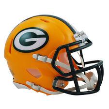 NFL Football Mini Helm Helmet GREEN BAY PACKERS Speed OVP Riddell Footballhelm