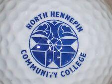 (1) NORTH HENNEPIN COMMUNITY COLLEGE NCAA LOGO GOLF BALL