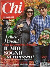 Chi CHI n. 44 laura pausini giovanni paolo I loretta goggi pitt italian magazine