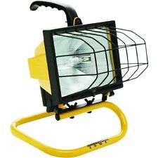500 Watt Halogen Portable Quartz Work Shop Stand Light Fixture Automotive L-20