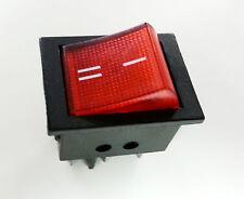 1pc Illuminated Rocket Rocker Switch 6 Pin Pins DPDT ON-ON + USA Free ship