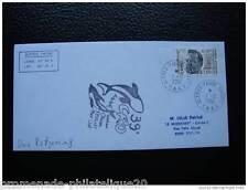 TAAF lettre 1/12/2001 - timbre Yvert et Tellier n°280 (U) (cy2)