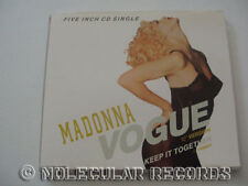 MADONNA Vogue 1990 German 2-track CD single RARE OOP
