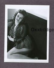 Leggy Sexy Beautiful Woman Busty 1950 Original Nude Vintage Pinup Photo B3169