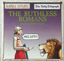 Horrible Histories. The Ruthless Romans. read by Terry Deary. Promo