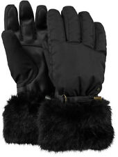 2019 Women's Ladies Barts Empire Ski Gloves Black size 6 Small waterproof 2826