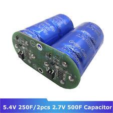 1pc Super Farad capacitor module 2.7V 500F ultralow resistance 5.4V 250F