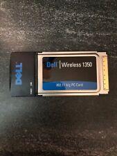 Dell Wireless Card 1350.802.11 b/g Pc Card