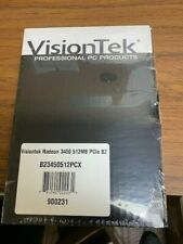 Lot of 10 Video Cards, Graphics Cards HDMI DVI VGA VisionTek 3450 512mb PCle B2