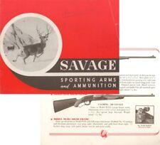 Savage 1945 Gun Catalog