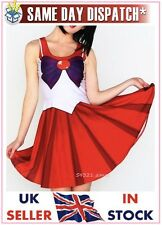 Sailor Mars Kostüm Cosplay Schuluniform Living Halloween Dead Moon