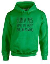 Guinea Pigs Make Me Happy Slogan Printed Hoodie Men Women Hooded Hoody Pullover