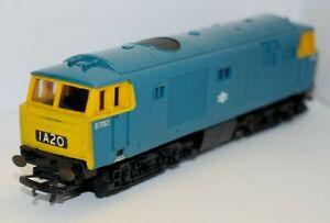 Vintage Triang Hornby OO R758 Hymek Locomotive, Rail Blue, RN D7063, Class 35
