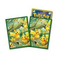 Pokemon center - Pikachu Forest Deck Shields (64 Sleeves)