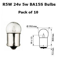 10 x R5W BA15S 24V 149 5W BRAKE STOP TAIL BULBS TRUCK LORRY BUS  SINGLE FILAMENT