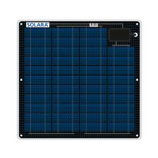 Semi Flexible Solar Panel SOLARA Marine 27W 12V for boats / Made in Germany
