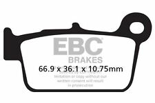 Ajuste sencillo de T.M. MX 530 F 10 > 15 EBC orgánico Pad Set Detrás Derecho