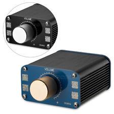 Mini HiFi Passive Preamp Stereo Audio Preamplifier Equiloudness Volume Control