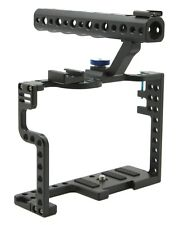 JMT DSLR Camera Cage With Top Handle Grip For Panasonic Lumix GH5 Camera Rig